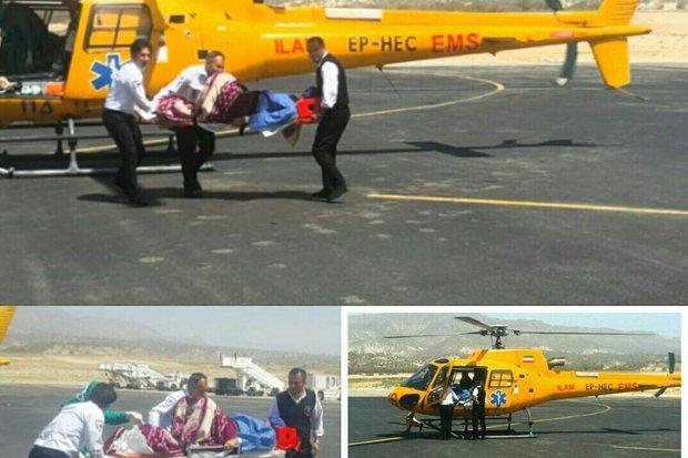 انجام 4 عملیات اورژانس هوایی در البرز، انتقال 6 مصدوم