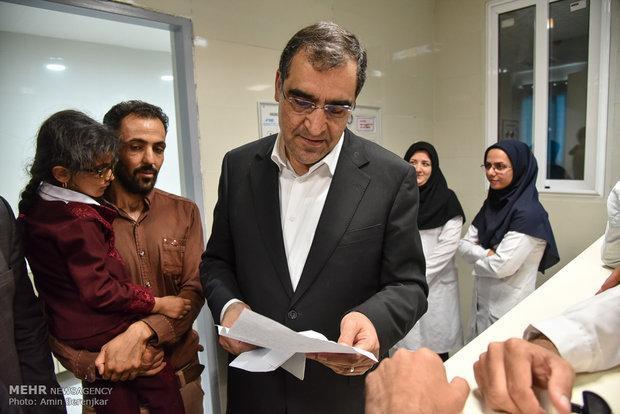 4 پروژه بهداشتی درمانی در ایذه به بهره برداری رسید