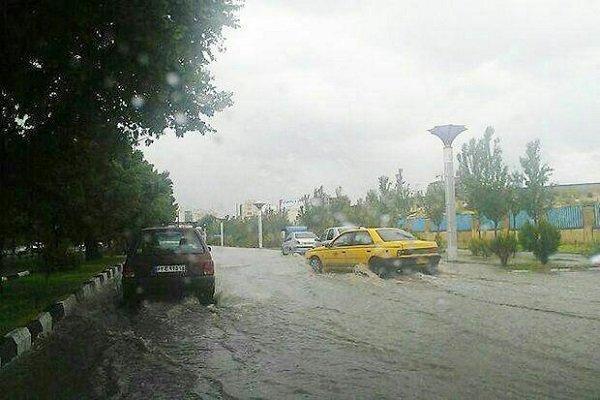 بارش باران چهارمحال و بختیاری را فرا گرفت