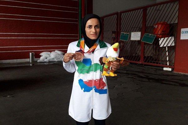 پرتاب آرزو حکیمی به طلا تبدیل شد، طلای سی و چهارم برای ایران