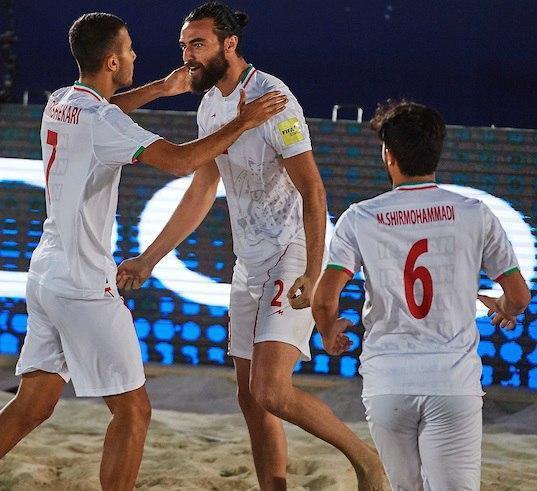 جام بین قاره گ ای فوتبال ساحلی دنیا؛ تیم فوتبال ساحلی ایران از سد روسیه هم گذشت