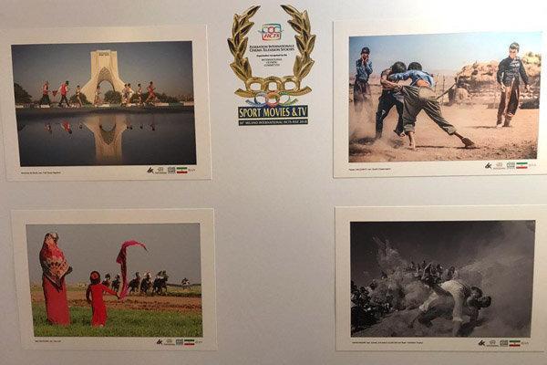 نمایشگاه آثار برگزیده جشنواره عکس ورزشی ایران در میلان