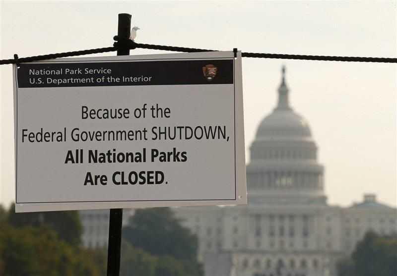 احتمال تعطیلی بخش هایی از دولت آمریکا قوت گرفت