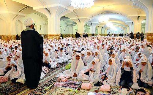 انتخاب مدرسه نمونه نماز در خوزستان