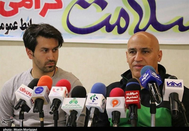 اصفهان، علیرضا منصوریان: بازی های لیگ بسیار فشرده است، موقعیت سوزی مشکل اصلی ذوب آهن است
