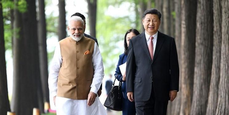رئیس جمهور چین گفت وگو با نخست وزیر هند را مثبت توصیف کرد