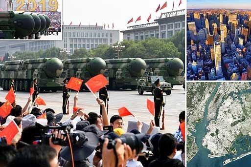 موشک هسته ای جدید چین کل نیویورک را با خاک یکسان می نماید ، موشک جدید حافظ امنیت مردم آمریکا است