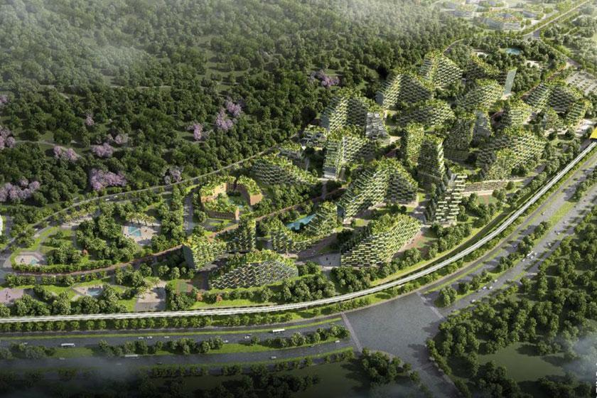بزرگترین شهر جنگلی دنیا در چین ساخته می گردد