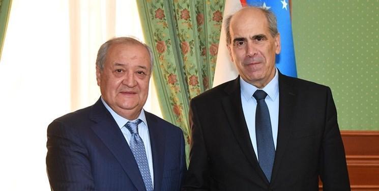 دیدار نماینده ویژه اتحادیه اروپا با وزیر امور خارجه ازبکستان