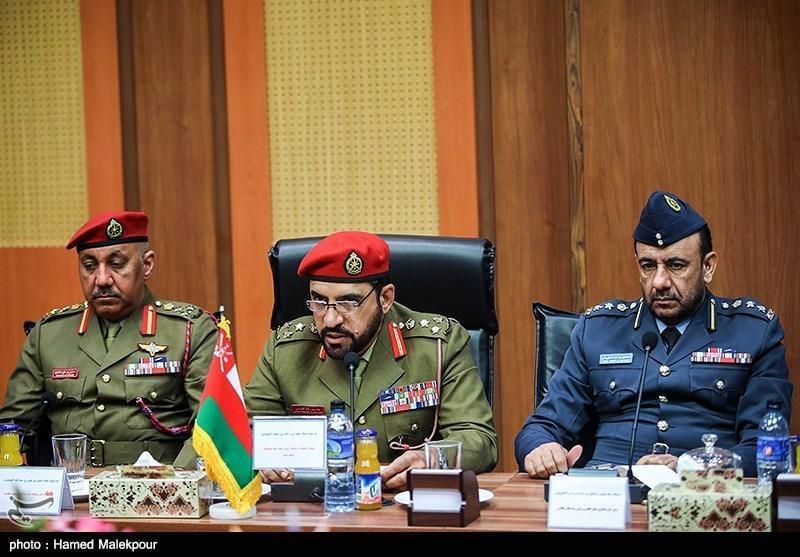 بازید هیئت نظامی عمان از دانشگاه عالی دفاع ملی