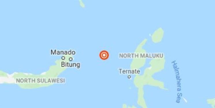 زلزله ای بسیار قدرتمند شرق اندونزی را به لرزه درآورد