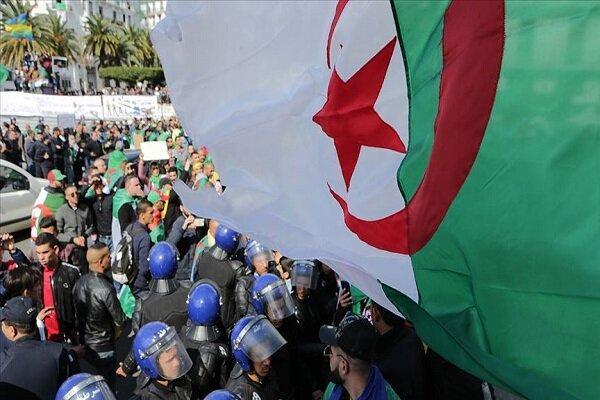 تظاهرات الجزایری ها علیه برگزاری انتخابات ریاست جمهوری