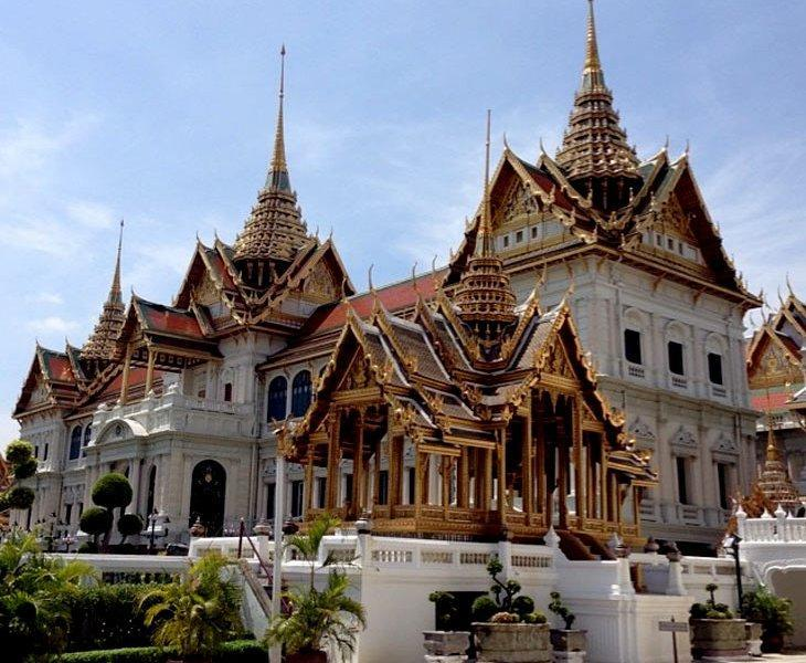 کاخ شاهنشاهی Emerald buddha - بانکوک