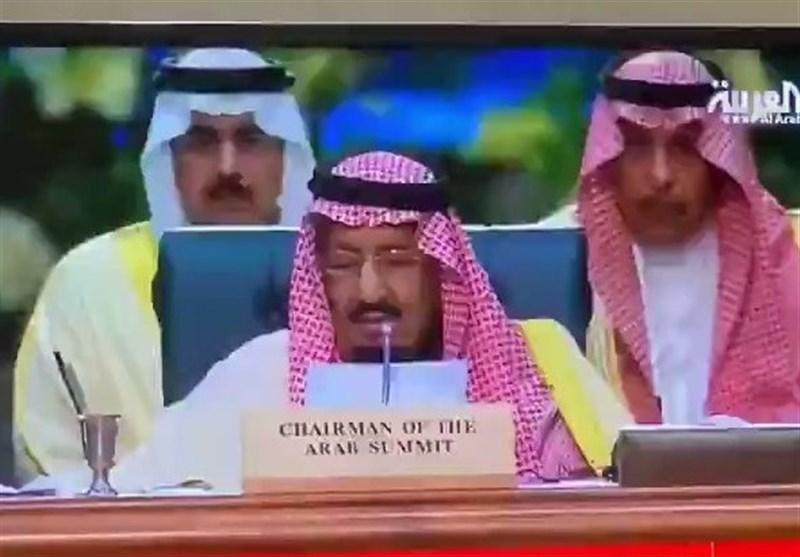 اصرار ملک سلمان بر رویکرد تهاجمی در برابر ایران، بیانیه پایانی نشست 40 دقیقه ای ریاض