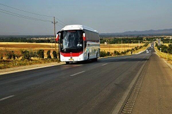 کاهش 63 درصدی جابه جایی مسافر با اتوبوس های بین شهری گیلان