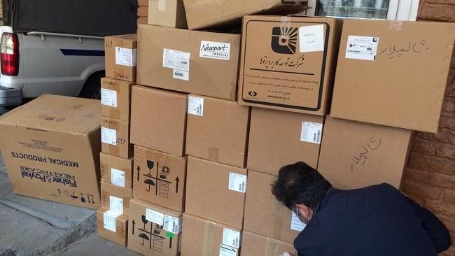 12 دستگاه ونتیلاتور از سوی اتاق مشهد به دانشگاه علوم پزشکی استان اهدا شد
