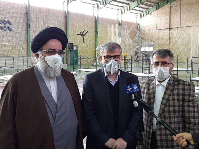 آماده سازی نقاهتگاه 200 تخت خوابی جنوب استان تهران در دشت ورامین