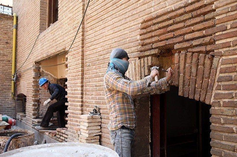 خبرنگاران مرمت محله تاریخی فهادان یزد انتها یافت