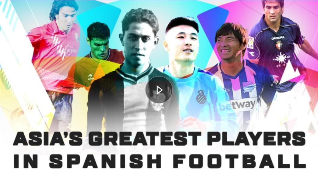 نکونام و شجاعی در میان برترین بازیکنان آسیایی تاریخ لالیگا