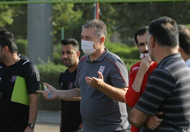 حضور سرمربی تیم ملی فوتبال در تمرین نساجی، اسکوچیچ: ما باید با مربیان لیگ در تماس باشیم
