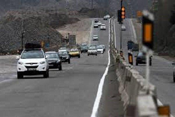 آخرین شرایط راه ها ، از کاهش 15.6 درصدی تردد ها تا بارندگی در چالوس