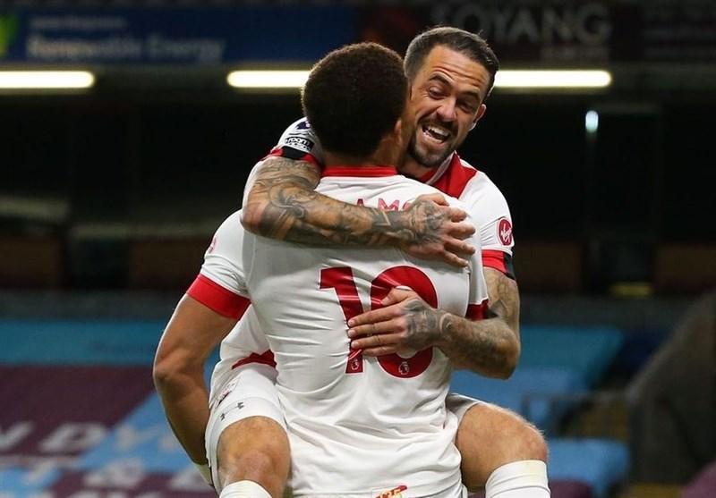 لیگ برتر انگلیس، ساوتهمپتون در خانه برنلی به پیروزی رسید