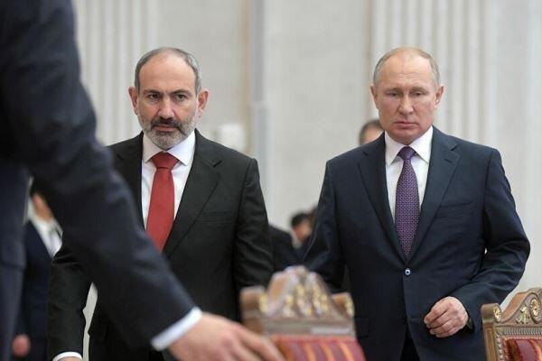 پوتین وزاری خارجه ارمنستان و جمهوری آذربایجان را به مسکو دعوت کرد