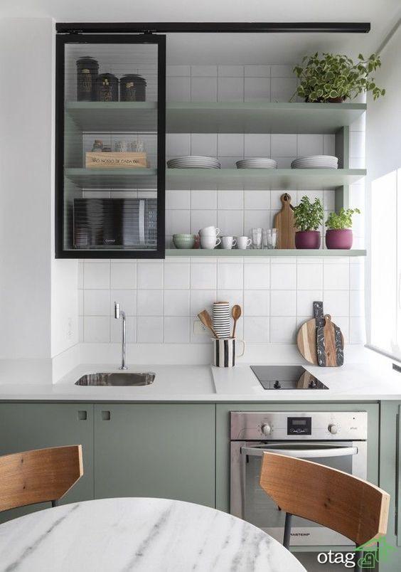 طراحی پلان آشپزخانه مناسب تمامی خانه ها [6 طرح جدید]