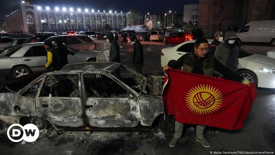 اعتراضات مردمی نتیجه داد، ابطال نتایج انتخابات در قرقیزستان