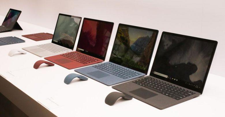 قیمت انواع لپ تاپ، امروز 19 مهر 99