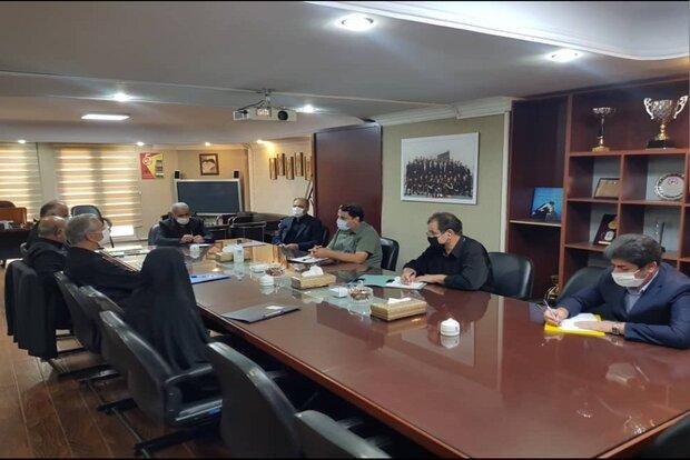 جلسه هیات رئیسه فدراسیون فوتبال با حضور کفاشیان برگزار شد