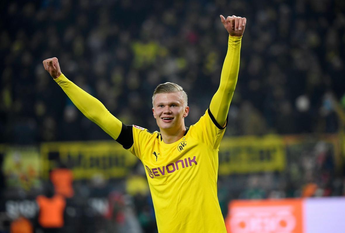هالند برنده جایزه پسر طلایی فوتبال اروپا