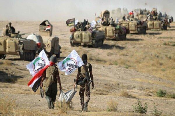 عملیات گسترده حشد شعبی عراق علیه بقایای داعش در دیالی