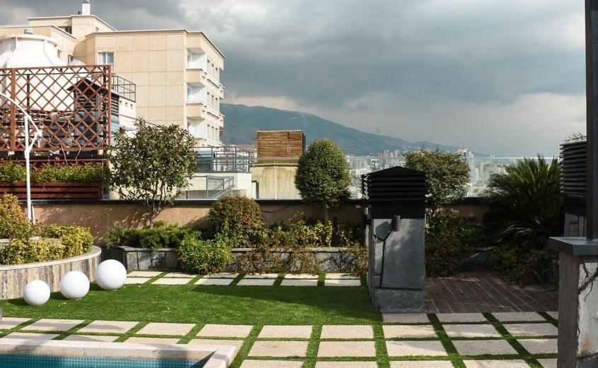 اوقات فراغت خود را در پشت بام سبز بگذرانید!