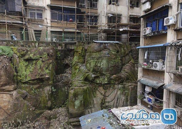 اعلام کشف یک مجسمه غول پیکر بودا در چین
