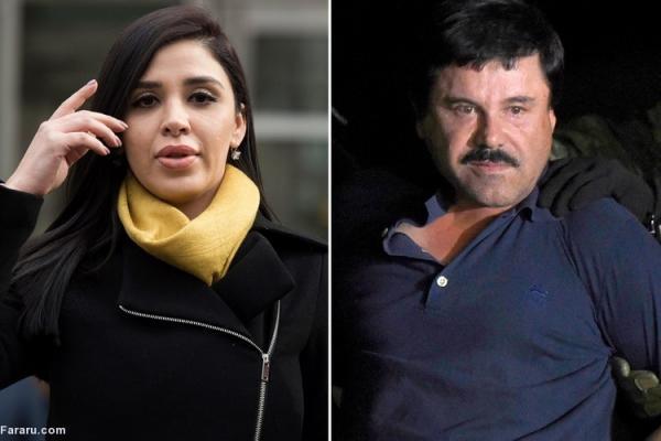 (ویدئو) همسر ال چاپو دستگیر شد
