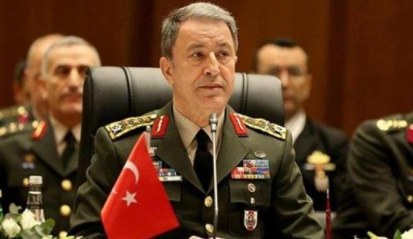 وزیر دفاع ترکیه: موضع خود را در دریای اژه تغییر نخوهیم داد خبرنگاران