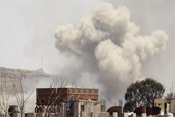 بمباران گسترده صنعاء توسط سعودی ها، وقوع انفجارهای متعدد