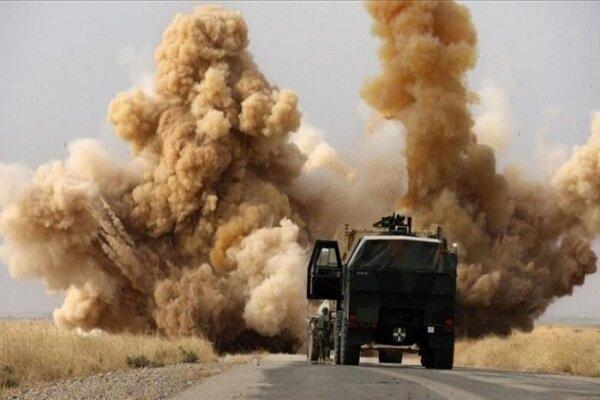 کاروان لجستیکی ارتش آمریکا در دیوانیه عراق هدف قرار گرفت