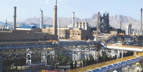 ذوب آهن پیشتاز شرکت های بزرگ صنعتی کشور در اتکا به توان داخلی