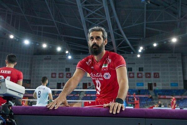 تغییر اضطراری در لیست تیم ملی والیبال ایران، سعید معروف خط خورد