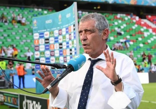 یورو 2020، سانتوس: آلمان تیم برتر میدان و پیروزی حقش بود