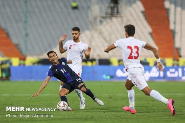 پیروزی تیم ملی ایران برابر کامبوج در نیمه اول، عجله در دستور کار!
