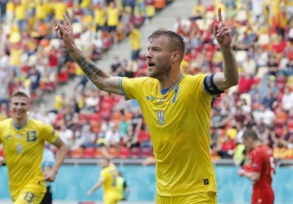 یورو 2020، اوکراین برنده تقابل جذاب با مقدونیه شمالی شد