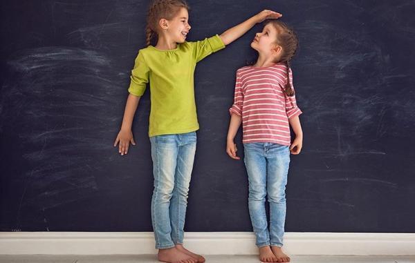 10 روش آسان برای افزایش قد کودک شما