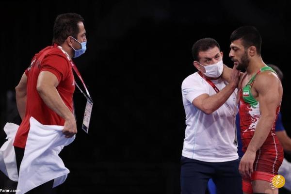 مدال المپیک از دست رضا اطری پرید