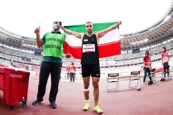 خسروانی بعد از کسب طلای پارالمپیک: می توانستم رکورد بهتری بزنم