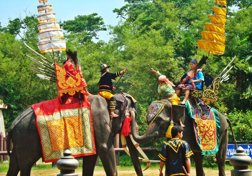 مزرعه فیل ها در پاتایا