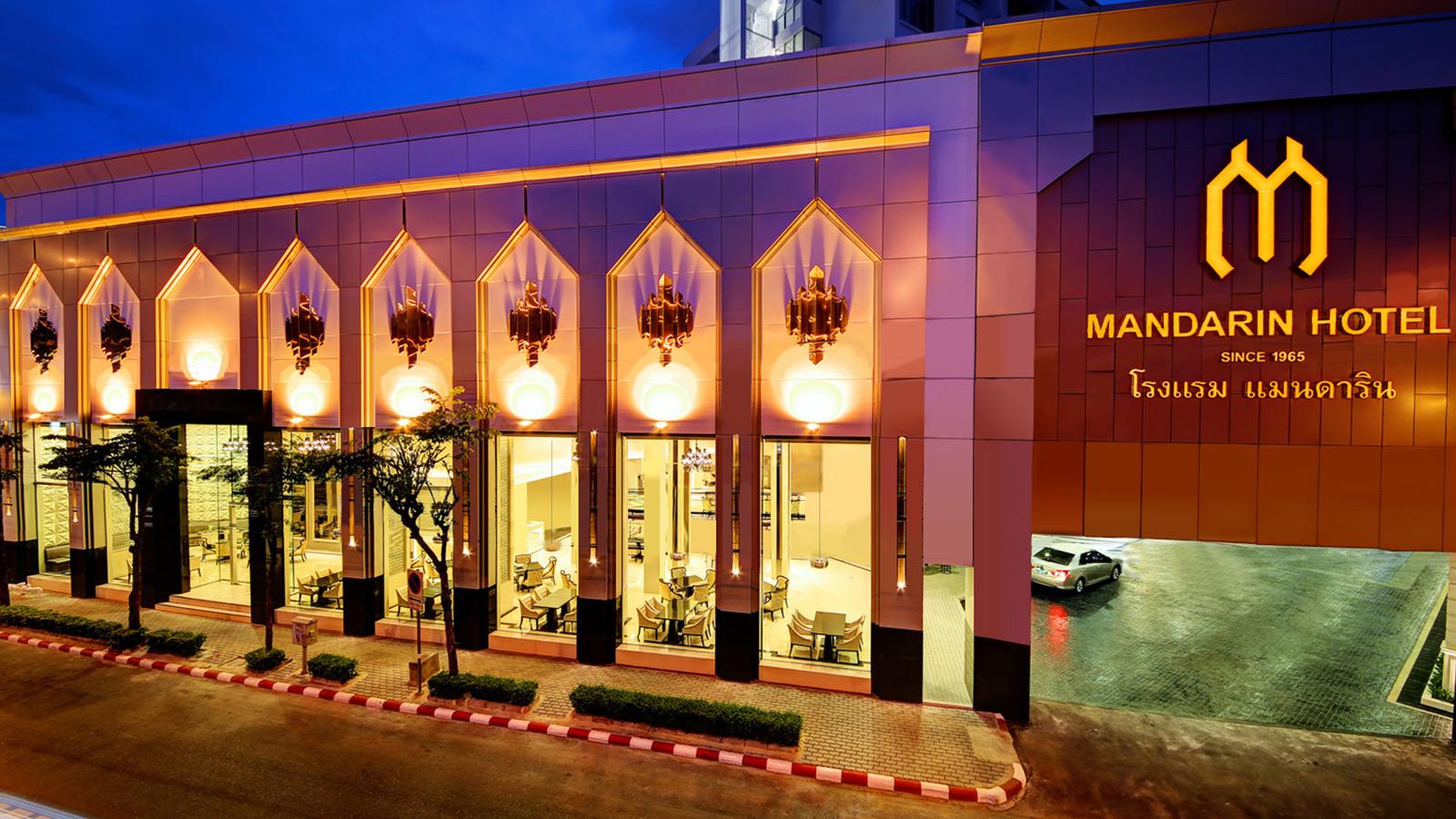 هتل 4 ستاره ماندارین سنتر پوینت بانکوک