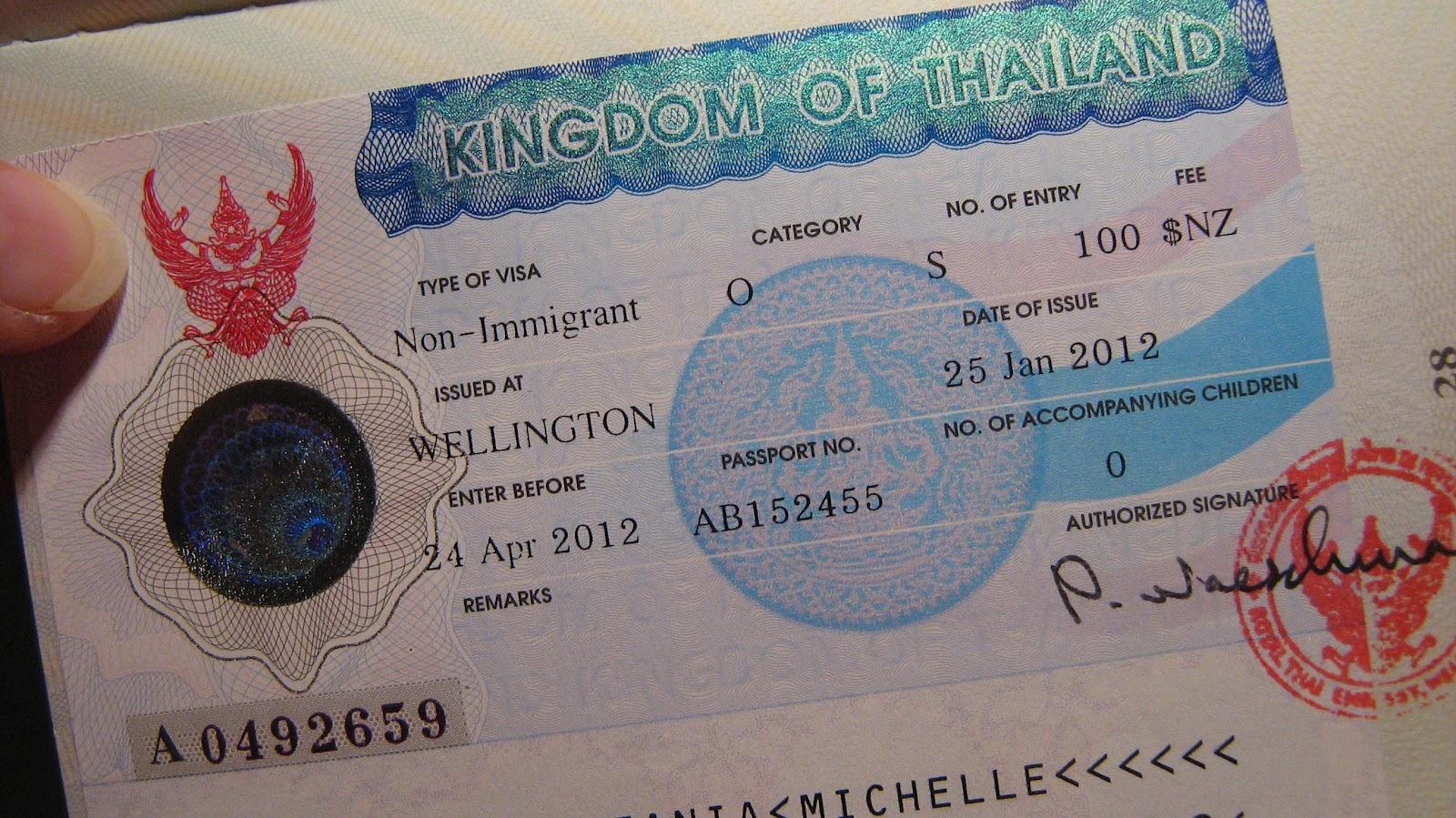 آشنایی با مراحل اخذ ویزای تایلند